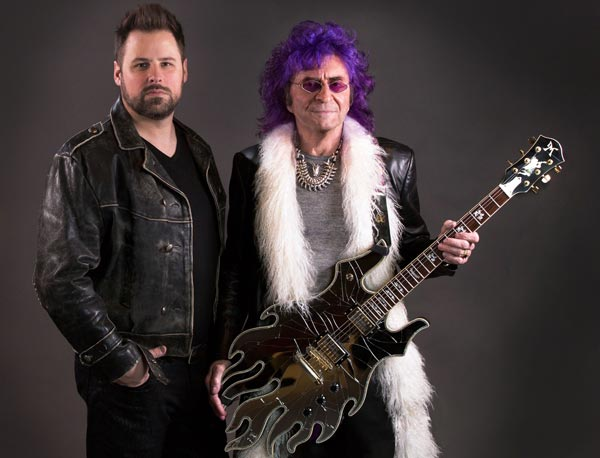 Photo of the Pride Of Lions, featuring Jim Peterik and Toby Hitchcock.