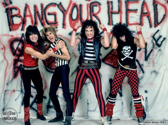 Quiet Riot, photo by Mark Weiss.