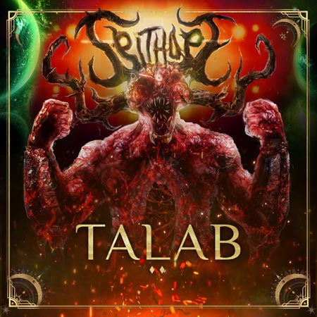 Cover of the single 'Talab' from SpitHope