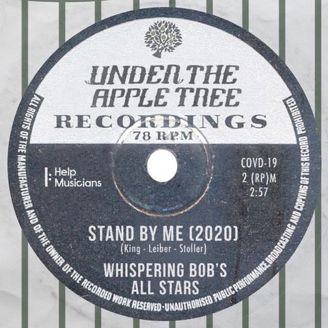 Cover of the Whispering Bob Harrie Stand By Me Project