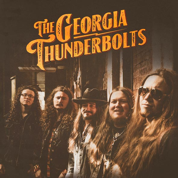 The Georgia Thunderbolts  - EP Cover