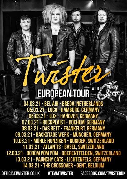 Twister - European Tour poster