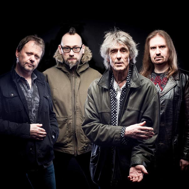 Martin Turner and his band