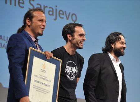 Scream For Me Sarajevo award ceremony