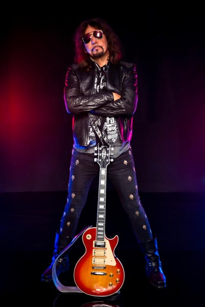 Photo of former Kiss guitarist Ace Frehley