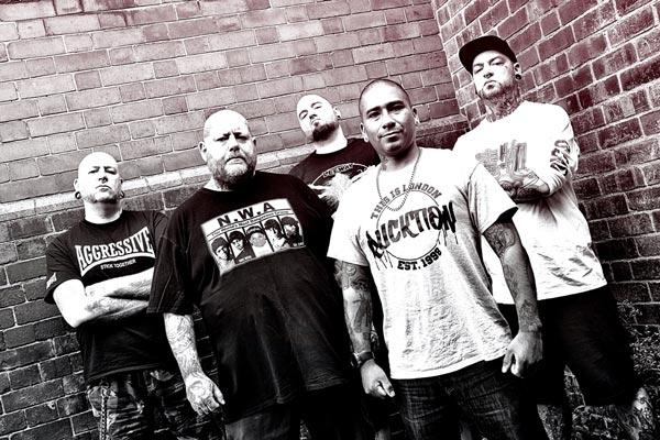 Photo of the UKHC band Borstal