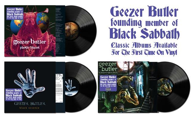 Geezer Butler three solo albums