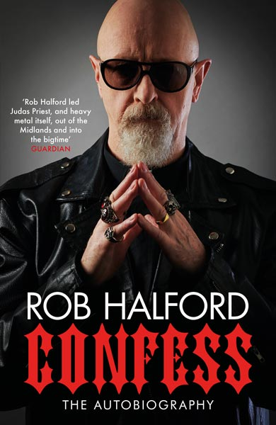 Cover of the book 'Confess', by Rob Halford