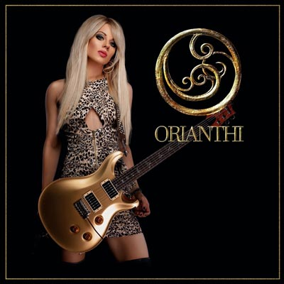 Orianthi Album cover 'O'