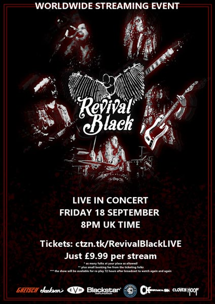 Revival Black live stream poster