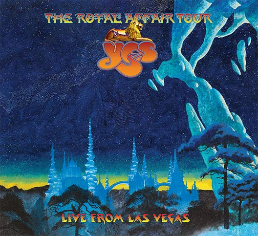 Cover of YES The RoyalAffair Live