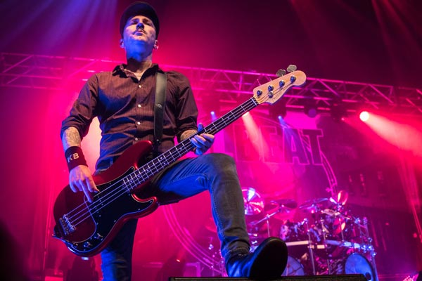 Photo of Volbeat on stage