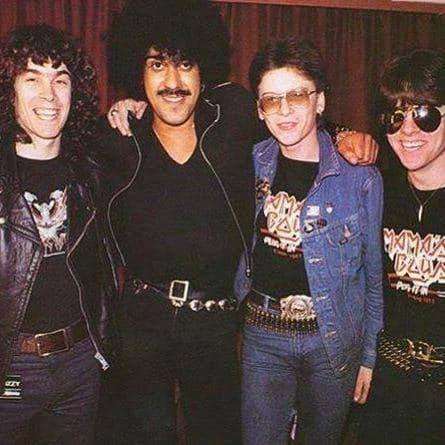 Phil Lynott Thin Lizzy and Mamas Boys