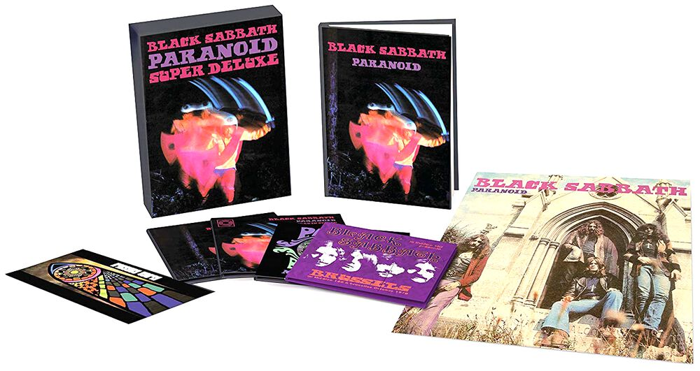 Sabbath Paranoid CD Boxset
