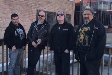 Photo of Autopsy, who have a new live album 'Live in Chicago' out this month