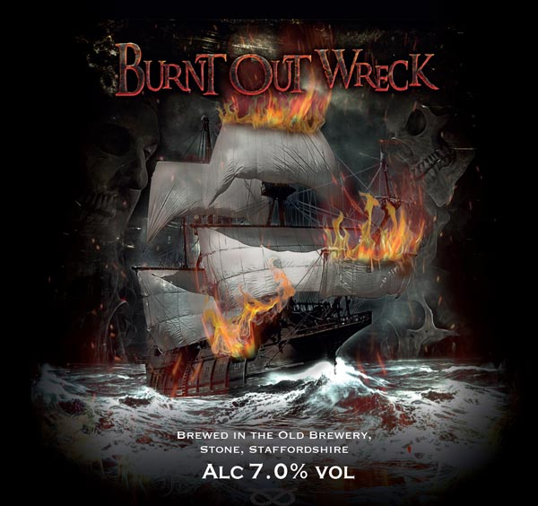 Burnt Out Wreck - Their new beer