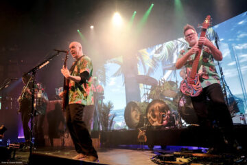 Devin Townsend on stage at Order of Magnitude – Empath Live Volume 1