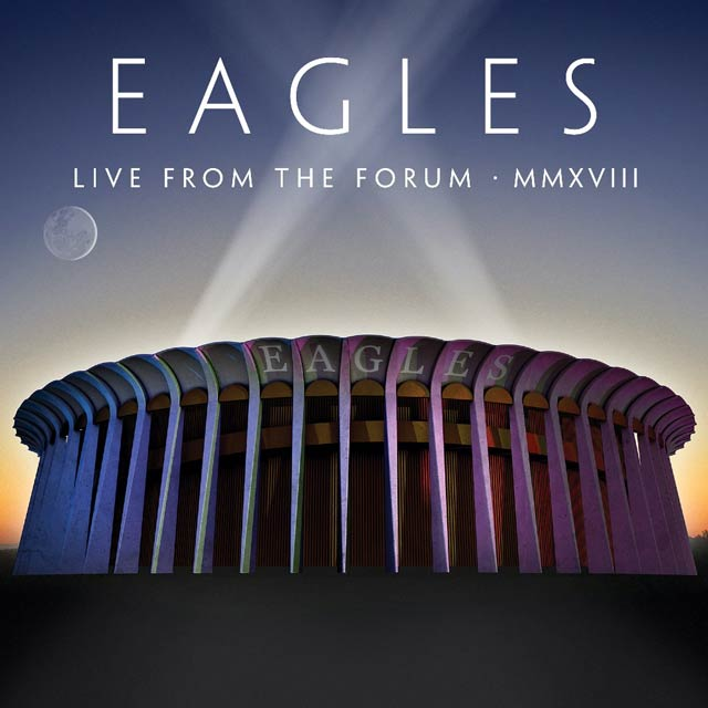The Eagles Live From The Forum cover