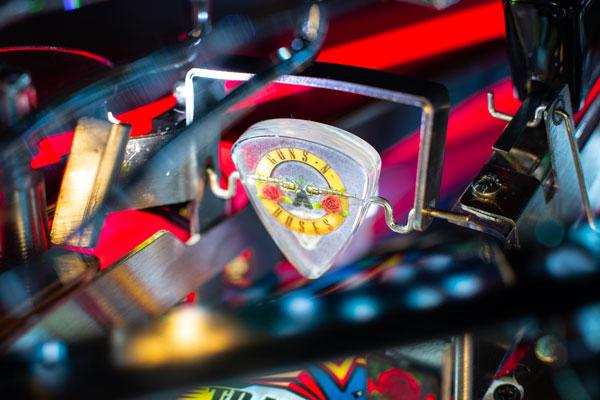 Guns 'N' Roses 'Not In This Lifetime' pinball game