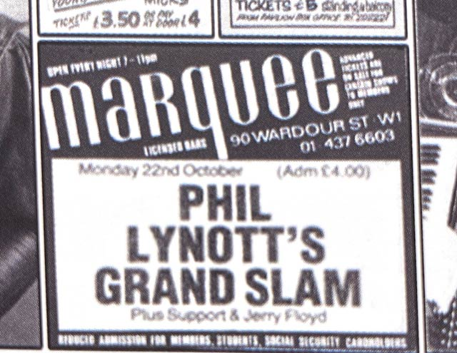 Grand Slam Marquee poster