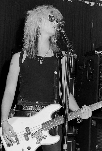 Guns & Roses at Paradiso, Amsterdam, 2nd of October 1987