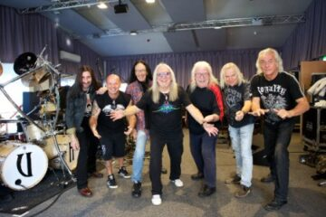 Uriah Heep rehearsal from 2015