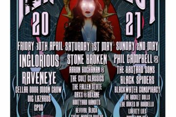 Heretic Fest 2021 Line Up Poster