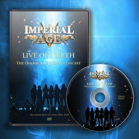 Cover if Imperial Age, Live On Earth DVD