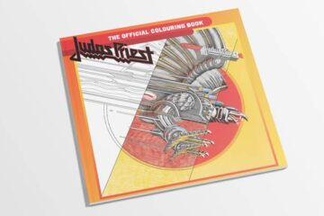 Judas Priest - Photo of Rock N' Roll Colouring books