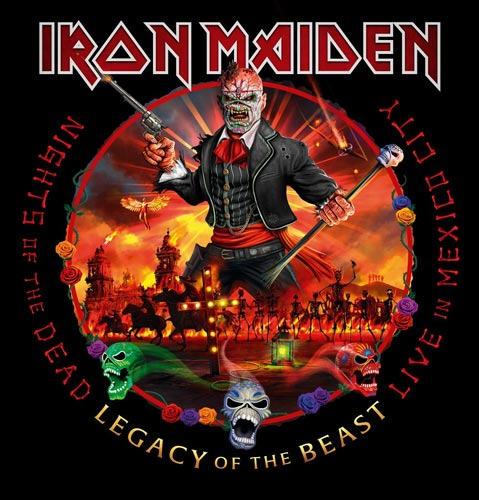 Cover of NIGHTS OF THE DEAD, LEGACY OF THE BEAST: LIVE IN MEXICO CITY