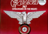 Saxon - 747 Strangers In The Night vinyl