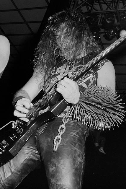 Slayer at Jaap Edenhal, Amsterdam, The Netherlands, 3rd of May 1987