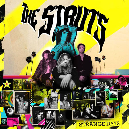 Photo of The Struts, with their new album Strange Days