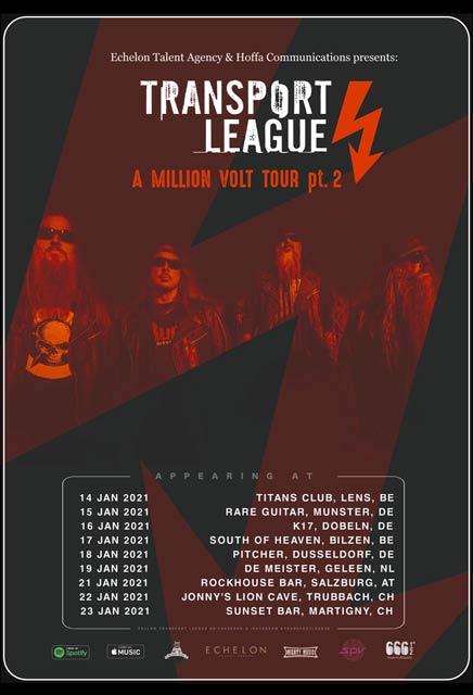 Transport League Tour poster