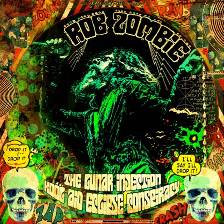 Rob Zombie - Album cover of he Lunar Injection Kool Aid Eclipse Conspiracy