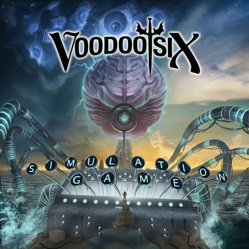 Voodoo Six album cover 'Simulation Game'