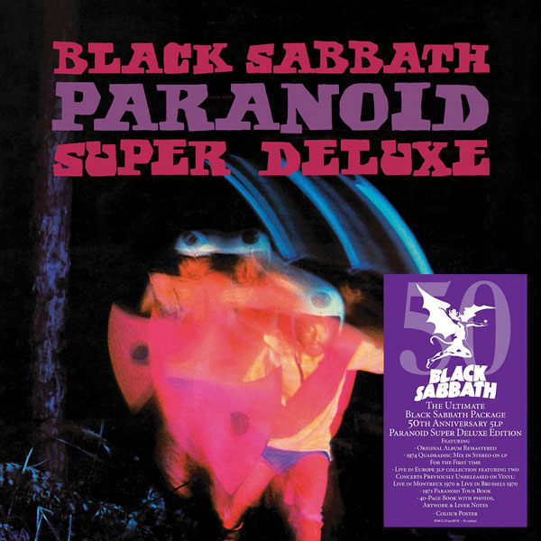 Black Sabbath paranoid super deluxe