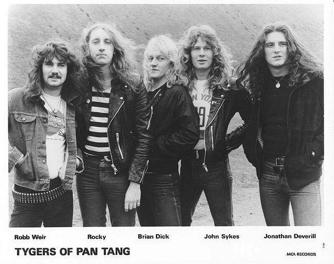 John Sykes with Tygers Of Pan Tang