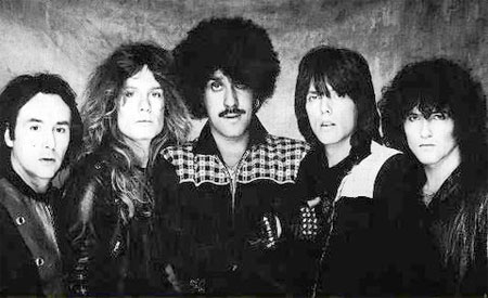 Thin Lizzy, Thunder and Lightening tour