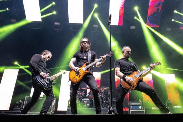 Photo of Alter Bridge, O2 Arena, London.