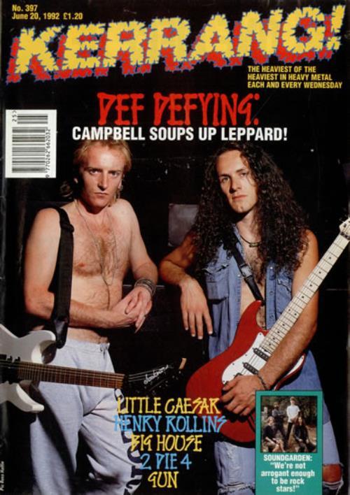 Vivian Campbell, Phil Collen - Kerrang