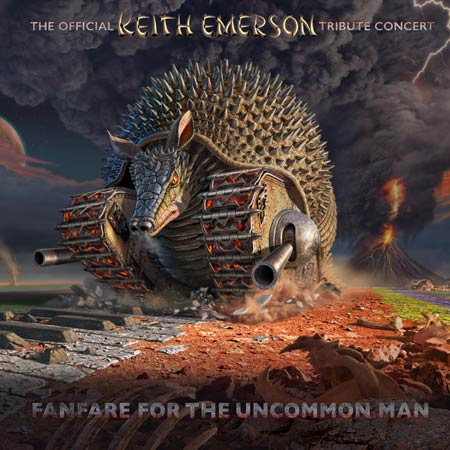 Keith Emerson tribute concert BluRay cover