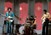 Jimi Hendrix performs with his 1967 Gibson SG on The Dick Cavett Show. 9 September 1969