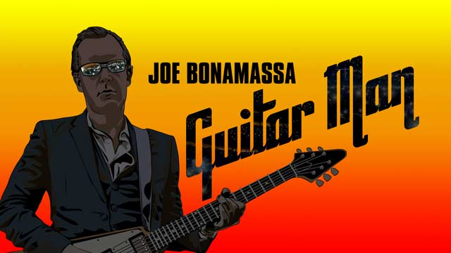Guitar Man / Joe Bonamassa story to be told in compelling documentary