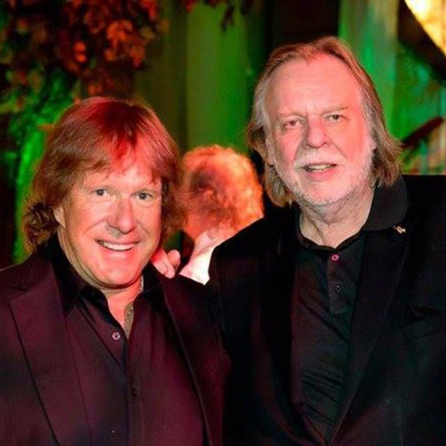 Keith Emerson and Rock Wakeman