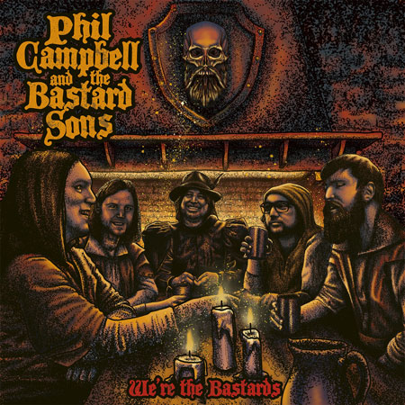 Phil Campbell and the Bastard Sons album cover