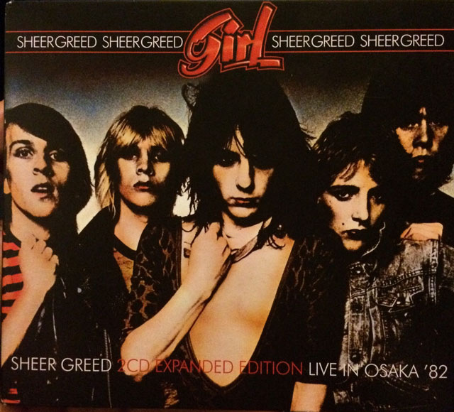 Cover of Girl, Sheer Greed.