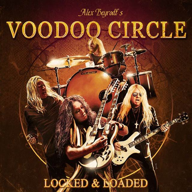 Cover of new album from Voodoo Circle