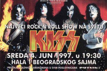 Kiss Belgrade poster