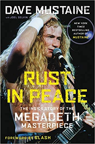 Dave Mustaine, Rust In Peace.